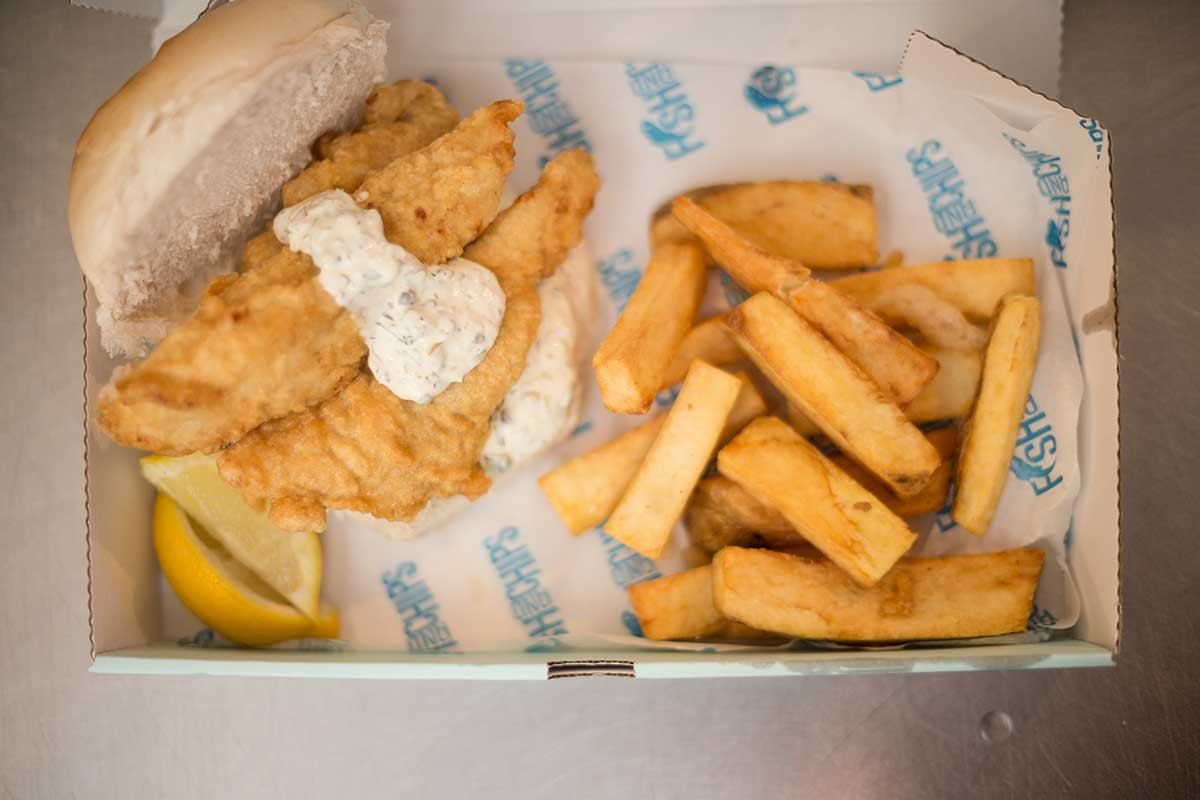 Angel Fish and Chips